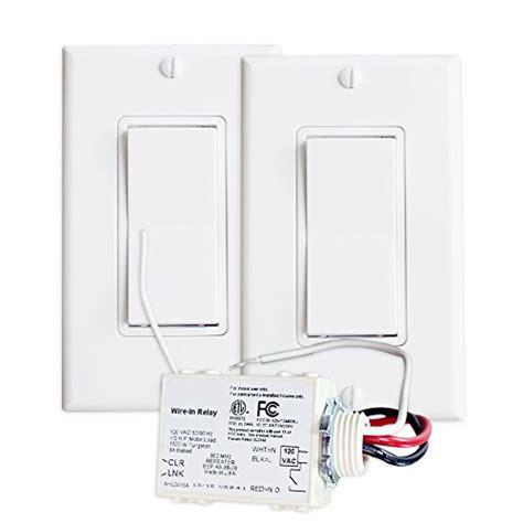 wireless 3 way light switch runlesswire 3 way wireless switch kit control a light