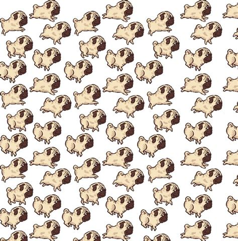 wallpaper dog design use this pattern to make a cute pug background for your