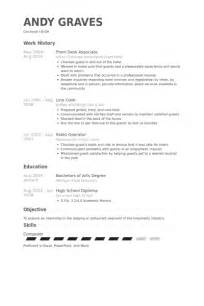 Hotel Front Desk Sle Resume by Front Desk Associate Resume Sles Visualcv Resume Sles Database