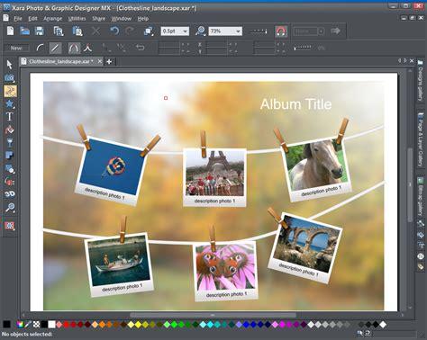 graphics design software reviews review xara photo graphic designer mx 8 1 from