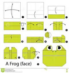 Origami Jumping Frog Easy - frog origami coloring pages