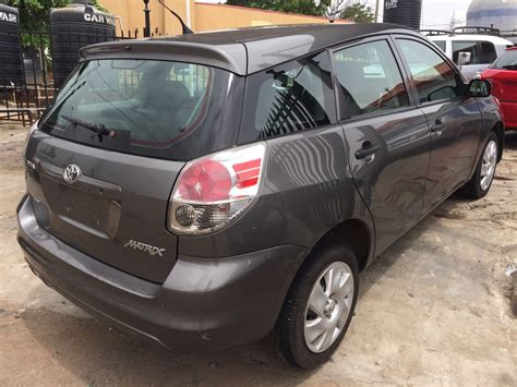 toyota matrix 4wd sold tokunbo toyota matrix 4wd 2005 arrived march 2016