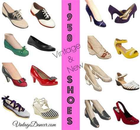 style shoes 1950s shoe styles history and shopping guide