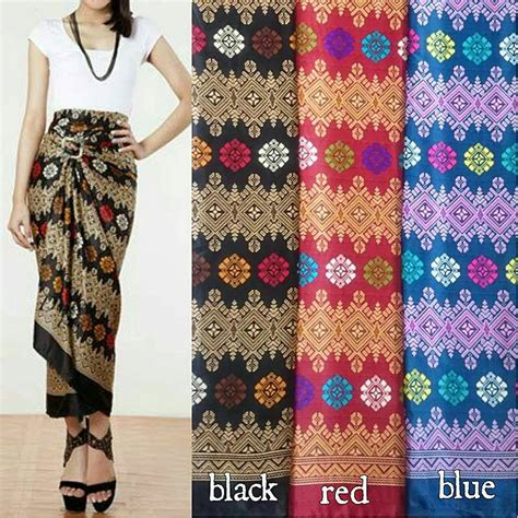 Rok Batik Serut by Jual Rok Lilit Serut Batik Semi Ervatek Collection