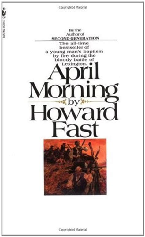 fast and a barrington novel books april morning
