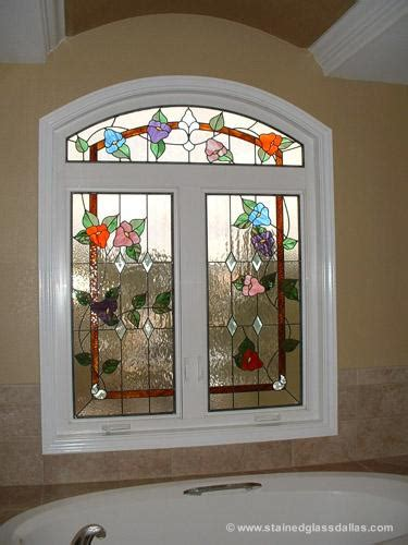 stained glass bathroom window designs dallas stained glass window gallery stained glass dallas