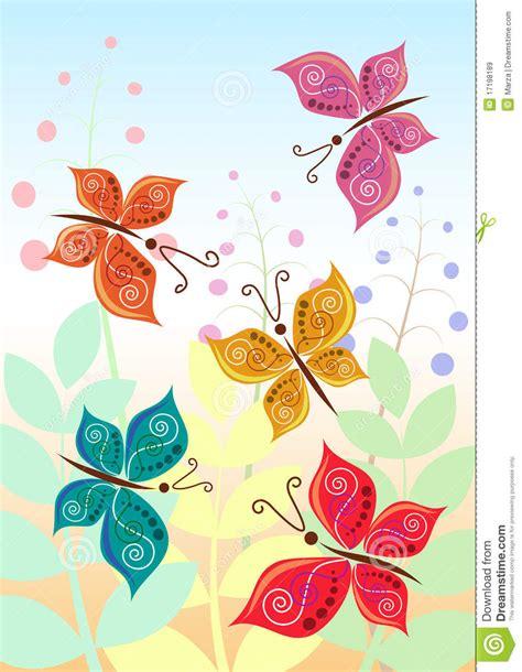 imagenes mariposas estilizadas ilustraci 243 n del vector de mariposas estilizadas im 225 genes