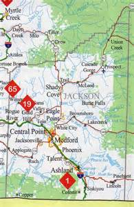 oregon attractions map jackson county map oregon oregon hotels motels