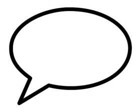 speech balloon template speech template printable clipart best