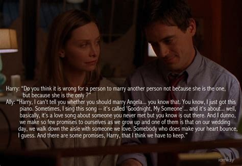 theme song ally mcbeal ally mcbeal love quote promise to myself on my wedding
