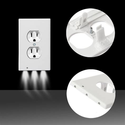 outlet coverplate with led lights itd gear wall outlet coverplate w led lights auto