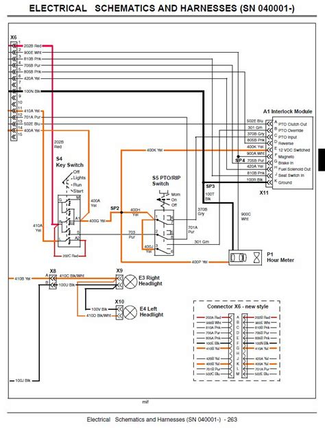 electrical schematic x300
