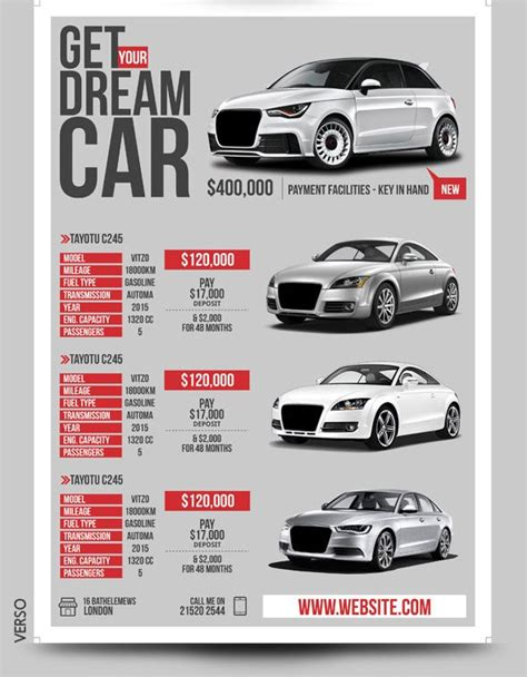 6 Marketing Ideas For Car Dealers Top Newsletter Template Car Sales Newsletter Template