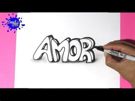 imagenes de amor para dibujar letras how to draw love 3d como dibujar amor san valentin