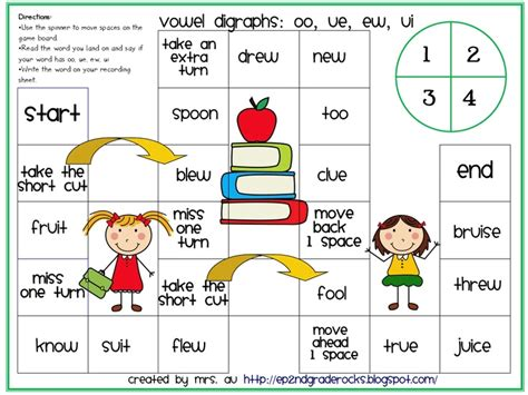 printable games for digraphs 27 best digraph oo u images on pinterest vowel