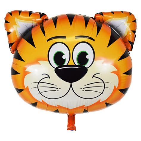 Balon Foil Kartun Stick Balloon Hbl014 tiger foil mylar balloon