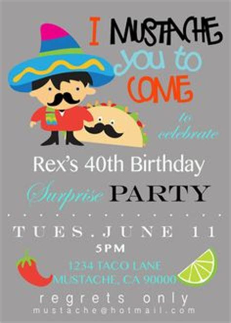 1000 Images About Taco Bar Party On Pinterest Pizza Party Taco Party And Fiestas Taco Invitation Template