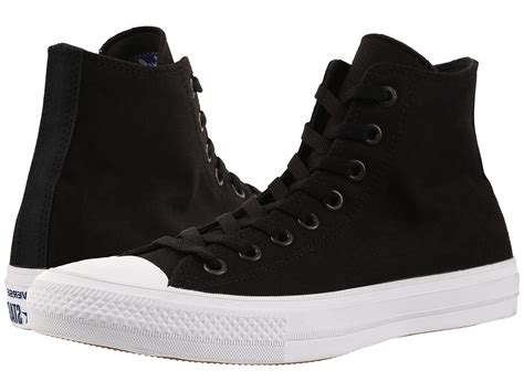 Converse Chuck Ii Hi Abu converse chuck 174 all ii hi black white navy zappos free shipping both ways