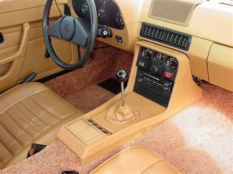 porsche 924 interior 924 interior with ferrari type shifter porsche
