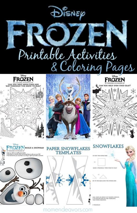 frozen coloring pages and activities free disney frozen printable activities coloring pages