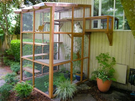free diy catio plans it s easy to build a diy catio for your cat catio spaces