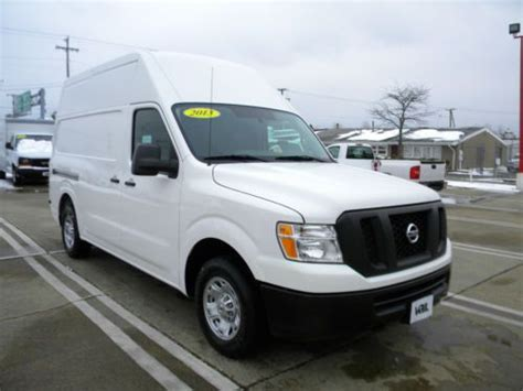 Used Nissan Cargo by Buy Used 2013 Nissan Nv 2500 V8 High Top Cargo In