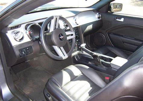 2006 Mustang Interior by Satin Silver 2006 Ford Mustang Gt Eleanor Coupe