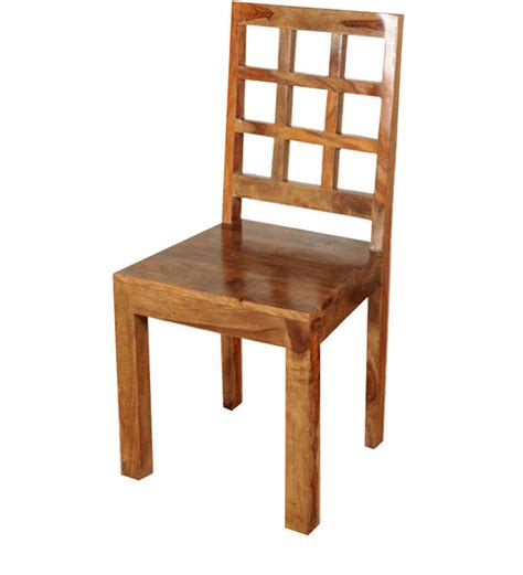 mango wood chairs la paz dining chair in mango wood finish by