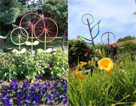 Deco Pneu Jardin by D 233 Co Jardin Diy Id 233 Es Originales Et Faciles Avec Objet De