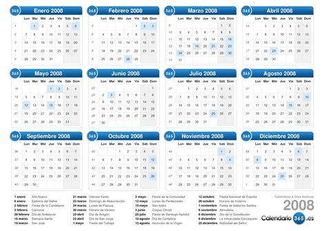 Calendario Diciembre 2008 Calendario 2008