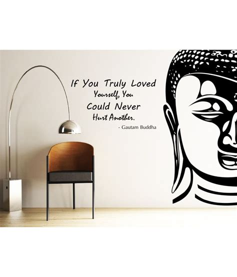 Buy Home Decor Items Online decor kafe decal style buddha wall sticker buy decor