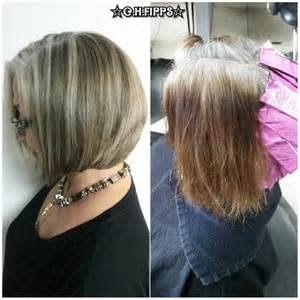 lavendar highlights in salt and pepper hair salt and pepper hair with brown lowlights short
