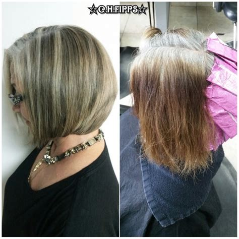 hair highlights for salt and pepper hair salt and pepper hair with brown lowlights short