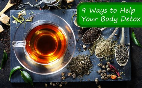 Ways To Help Detox From by 9 Ways To Help Your Detox Fitbodyhq