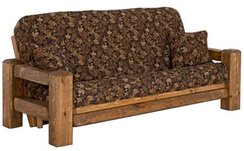Rustic Futons timberwood rustic futon viking log furniture the log