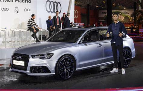 Ronaldo Audi by La Plantilla Madrid Recogi 243 Sus Nuevos Audi Los