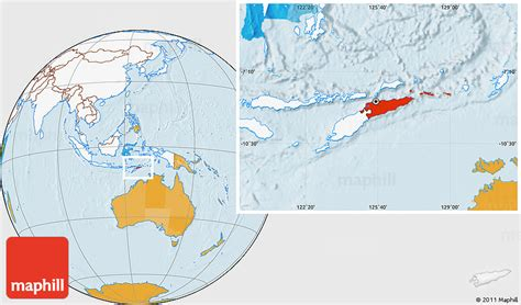 where is east timor located on the world map political location map of east timor highlighted continent