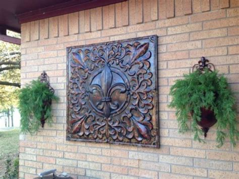 interesting options  outdoor wall decor  enhance  exterior