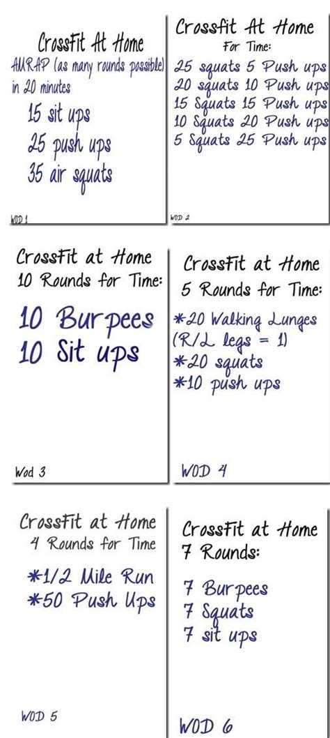 6 crossfit workouts to try workout tips