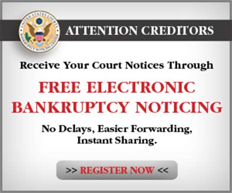 public notice unclaimed funds united states bankruptcy electronic bankruptcy noticing ebn district of montana