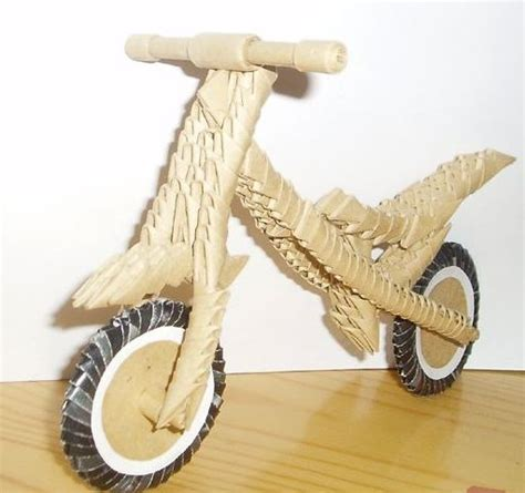 Origami Bike - 3d origami 3d origami bmw bike origami and
