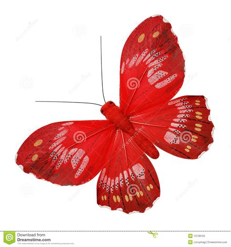 red butterfly stock image image of imitation large
