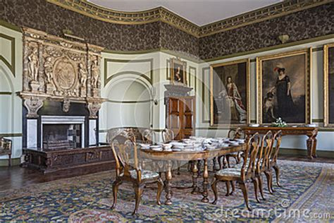 country manor house interior editorial image
