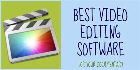 color adjustment documentary best editing software for your documentary project