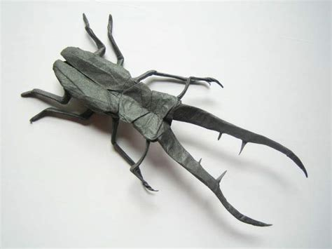 Origami Stag - cyclommatus metalifer