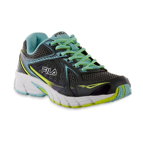 womens fila sneakers fila s omnispeed gray aqua running shoe shoes