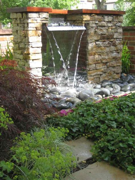 modern water feature 17 modern water feature designs for your garden