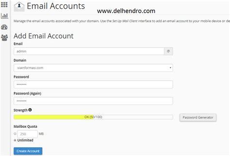 cara membuat webmail sendiri cara membuat email dengan domain sendiri 5 menit jadi