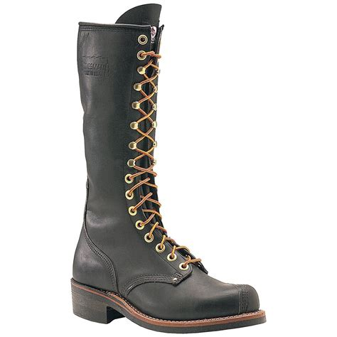 s carolina 174 16 quot linesman boot black 133187 work