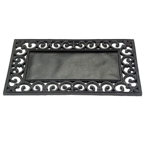 Door Mat Inserts gardman rubber base tray changeable door mat for use with